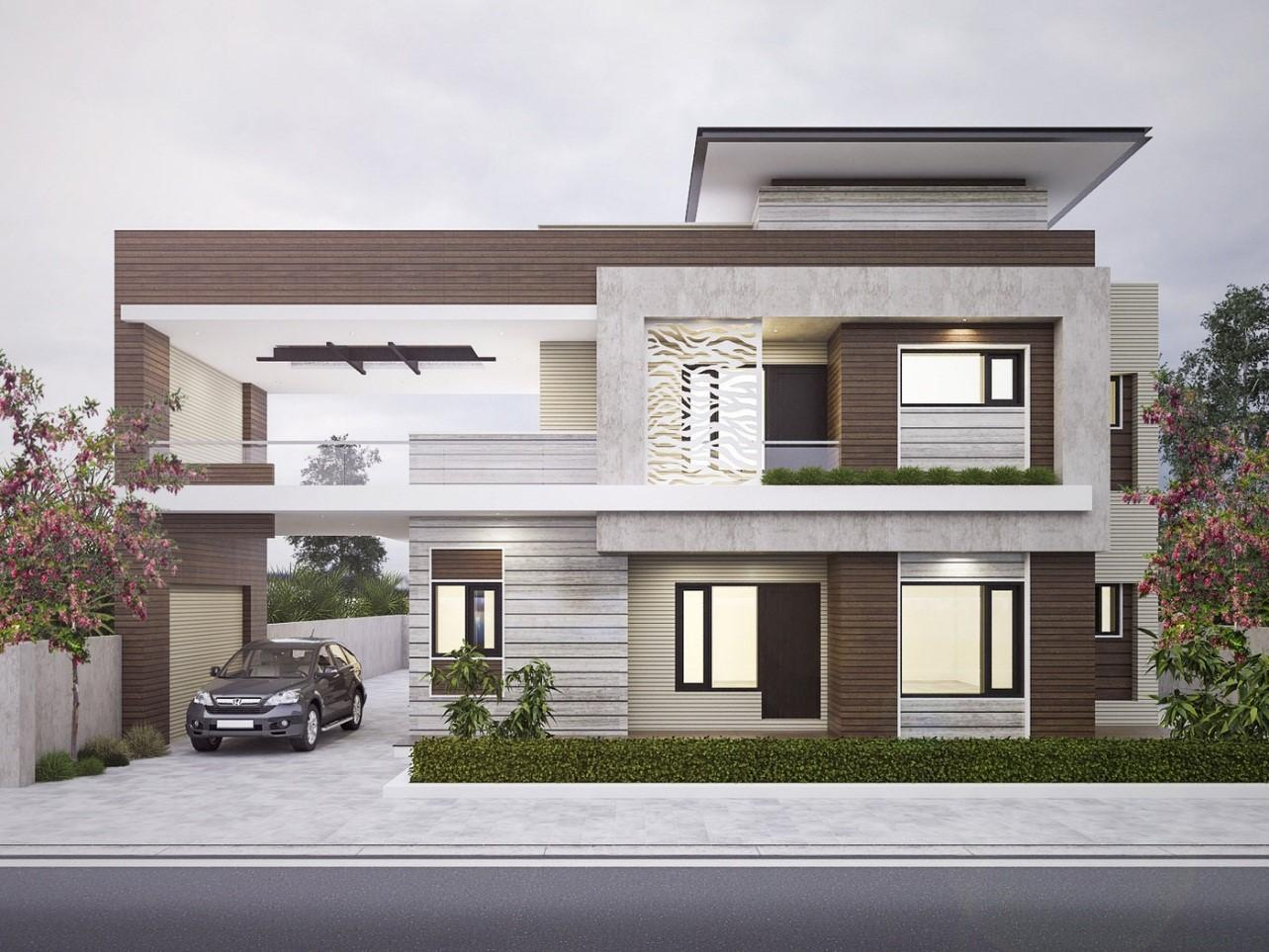 Top popular model 2-storey garden villas